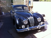 1956 Jaguar XK 140 FHC with C-Head