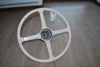Jaguar XK120 OTS Original Steering Wheel from Alloy Car !!! Super Rare Item !!!