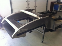 Jaguar XK120 OTS Rear end !!! Brand new !!!